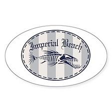Imperial Beach Bonefish Decal