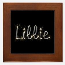 Lillie Spark Framed Tile