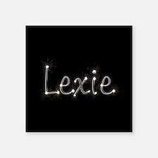 "Lexie Spark Square Sticker 3"" x 3"""