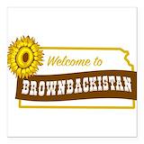 Brownbackistan Car Magnets
