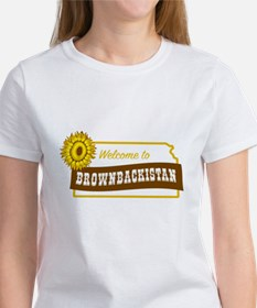 Welcome to Brownbackistan Tee