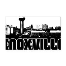 Knoxville Skyline Rectangle Car Magnet