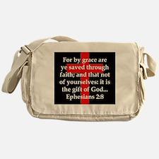 Ephesians 2-8 Messenger Bag