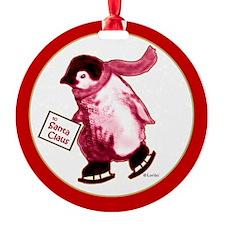 Santa's Messenger Penguin Ornament