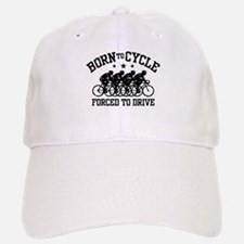 Born To Cycle Forced To Drive (male) Baseball Baseball Cap