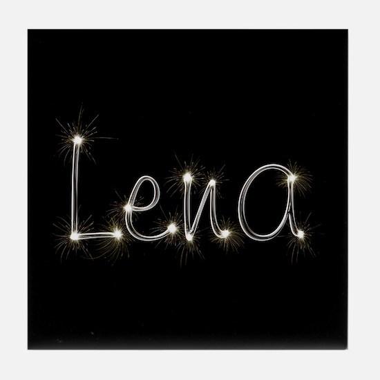 Lena Spark Tile Coaster