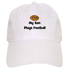 My Son Plays Football Cap