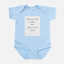 Big boobs, small taxes Infant Bodysuit
