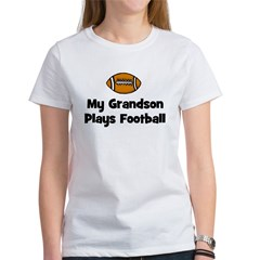 My Grandson Plays Football Tee