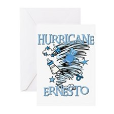 HURRICANE ERNESTO Greeting Cards (Pk of 10)