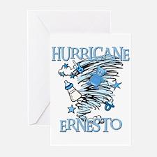 HURRICANE ERNESTO Greeting Cards (Pk of 10)