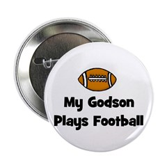 My Godson Plays Football Button