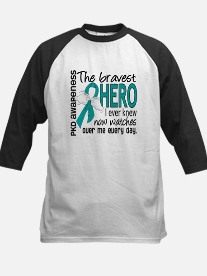 Bravest Hero I Knew PKD Kids Baseball Jersey