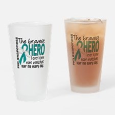 Bravest Hero I Knew PKD Drinking Glass