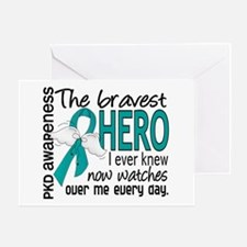 Bravest Hero I Knew PKD Greeting Card