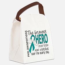 Bravest Hero I Knew PKD Canvas Lunch Bag