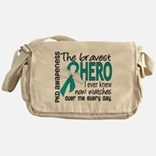 Bravest Hero I Knew PKD Messenger Bag