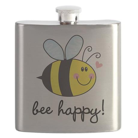Bee Happy Flask