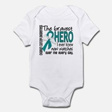 Bravest Hero I Knew Ovarian Cancer Infant Bodysuit