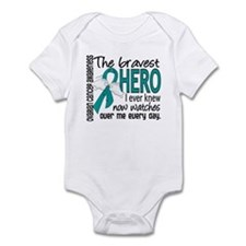 Bravest Hero I Knew Ovarian Cancer Onesie