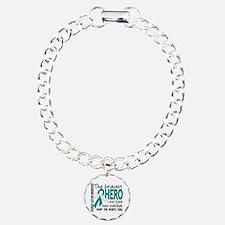 Bravest Hero I Knew Ovarian Cancer Bracelet