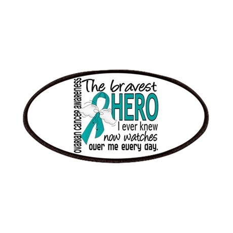 Bravest Hero I Knew Ovarian Cancer Patches