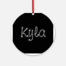 Kyla Spark Ornament (Round)