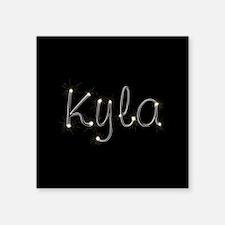 "Kyla Spark Square Sticker 3"" x 3"""