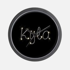 Kyla Spark Wall Clock