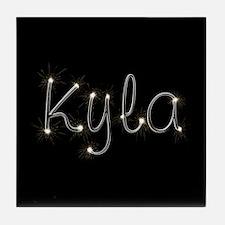 Kyla Spark Tile Coaster