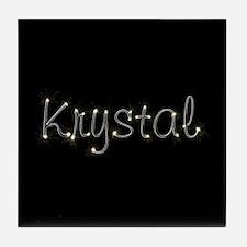 Krystal Spark Tile Coaster