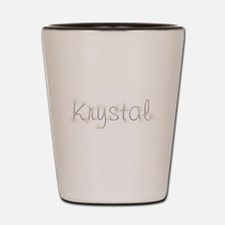 Krystal Spark Shot Glass