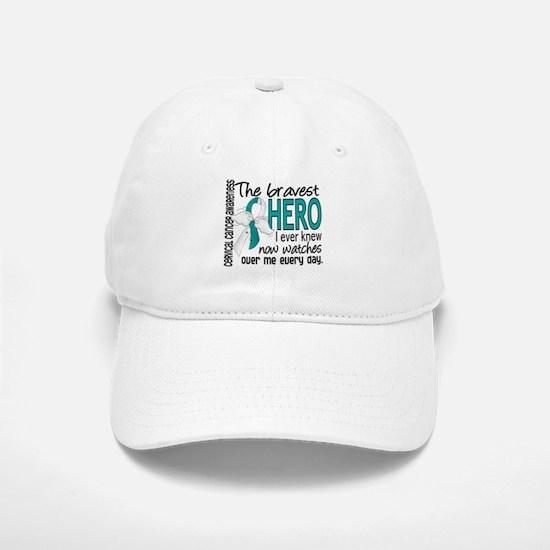 Bravest Hero I Knew Cervical Cancer Hat