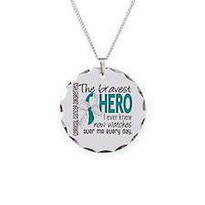 Bravest Hero I Knew Cervical Cancer Necklace