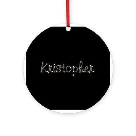 Kristopher Spark Ornament (Round)