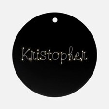 Kristopher Spark Ornament (Round)