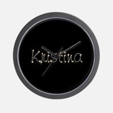 Kristina Spark Wall Clock