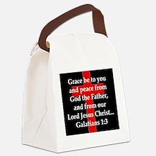 Galatians 1-3 Canvas Lunch Bag