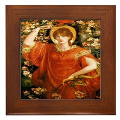 A Vision of Fiammetta Framed Tile