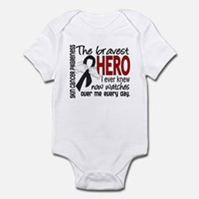 Bravest Hero I Knew Skin Cancer Infant Bodysuit