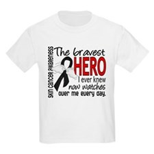Bravest Hero I Knew Skin Cancer T-Shirt
