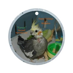 Forrest - 2012 Round Ornament