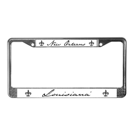 New Orleans, Louisiana License Plate Frame