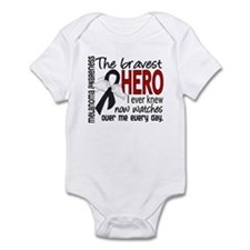 Bravest Hero I Knew Melanoma Infant Bodysuit