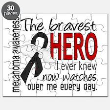 Bravest Hero I Knew Melanoma Puzzle