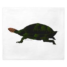 Giant Amazon River Turtle King Duvet