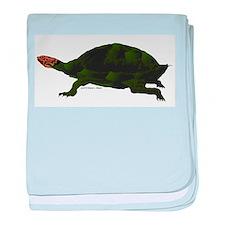 Giant Amazon River Turtle baby blanket