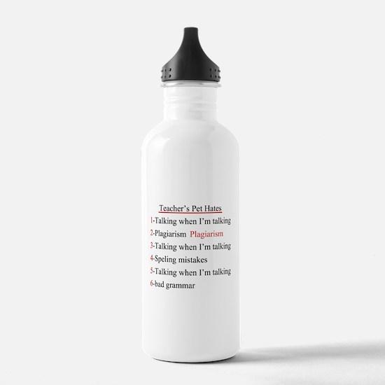 Pet Hates 2 Water Bottle