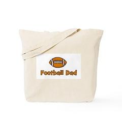 Football Dad Tote Bag