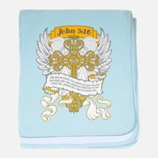 John 3:16 baby blanket